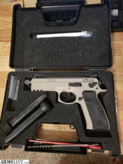 For Sale: CZ 75 SP-01 Tactical - Urban Grey