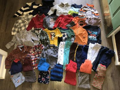 Very large lot of winter boys cloths size 12 months