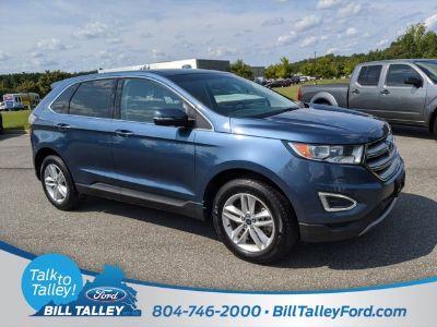 2018 Ford Edge SEL (Blue Metallic)