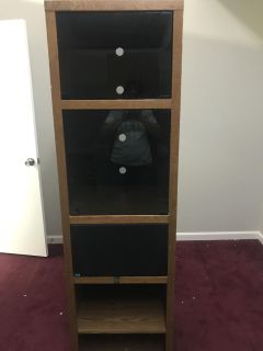I need this picked up today. Stereo cabinet