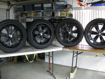 Foose wheels / rims 22 inch by 9.5 inches wide
