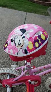 Toddler Minnie Mouse Bicycle Helmet