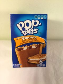 Frosted s mores Pop tarts, expiration March 2020