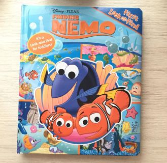 Finding Nero Toddler Look n find book