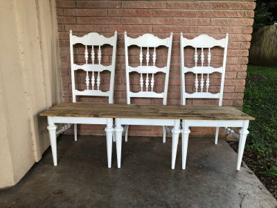 3 Chair Bench