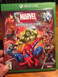 XBOX ONE Marvel pinball epic collection
