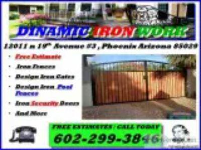 DINAMIC IRON Security Gates Doors Pool Fences Free Estimate