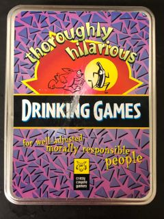 Crazy Coyote games Thoroughly Hilarious Drinking Games
