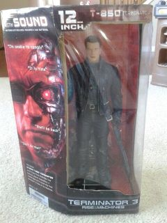 T-850 Terminator Deluxe Action Figure McFarlane Toys Rise of the Machines