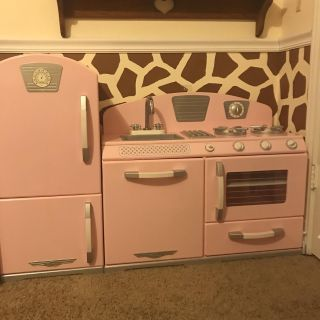Pink Pottery Barn Kitchen