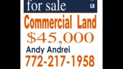 Commercial land great for cars dealers