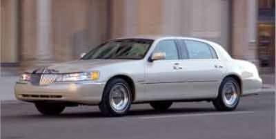 2001 Lincoln Town Car Cartier L (Green)
