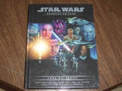 $20 star wars roleplaying game core rulebook (ponca city)