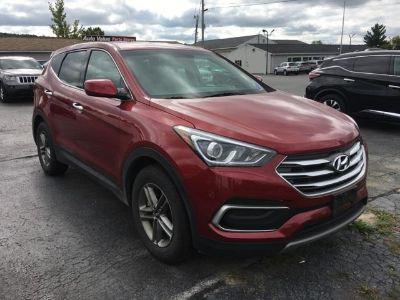 2018 Hyundai Santa Fe Sport 2.4 Base (Serrano Red)