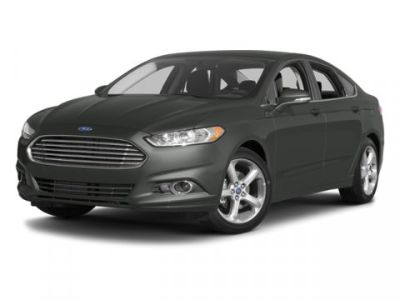 2013 Ford Fusion SE (Oxford White)