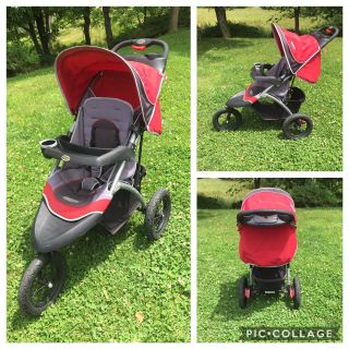 InStep Jogging Stroller, non-smoking home, GUC **READ PICK-UP DETAILS BELOW