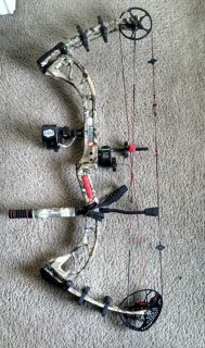 $500, PSE Brute X compound bow