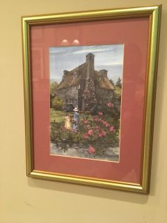 Limited Edition Framed Watercolor Print