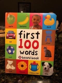 First 100 Woods Board Book. Nice Condition. Retails for $5.99