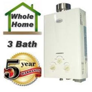 $395, Tankless water heaters