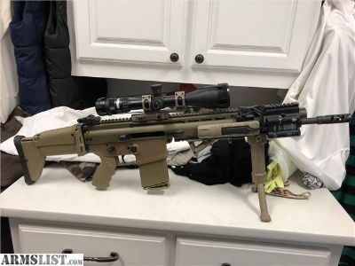 For Sale: FNH SCAR 17S,5x20x50, 13 mags, case and more