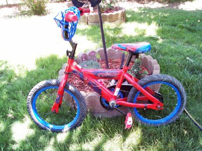 Huffy 16 in Spiderman Bike