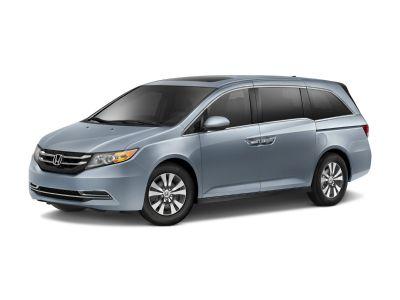 2016 Honda Odyssey EX-L (Lunar Silver Metallic)
