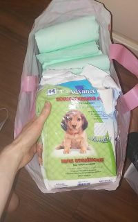 17 Assorted Puppy Pads