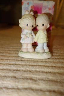 Precious Moments Figurine YOU'RE FOREVER IN MY HEART 139548, w/Box