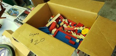 Box of Old Legos