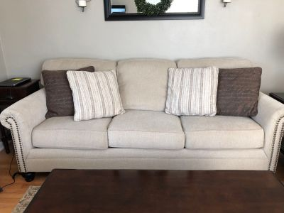 Ashley Sofa & Love Seat Set