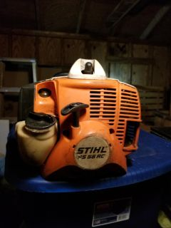 A great condition STIHL FS 56RC weedeater