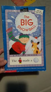 The Big Snowball... with 24 Flashcards too