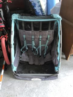 Double bicycle trailer XPOSTED PPU
