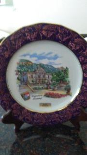 Decorative plate from Europe
