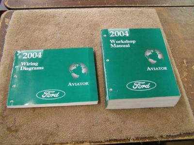 Purchase OEM Ford 2004 Lincoln Aviator Shop Manual Book + Wiring Diagram motorcycle in Evansville, Indiana, United States, for US $79.00
