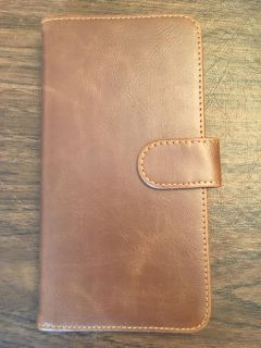 Leather Wallet Case for iPhone 7 PLUS - New