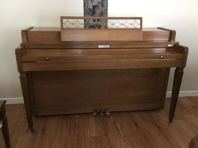 Gorgeous Piano and Bench - Baldwin Acrosonic - Original Owner 1960 s Impeccable Condition