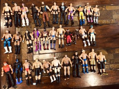 WWE Action Figures and Ring