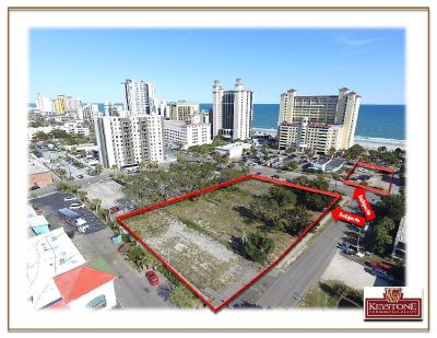 WT Assemblage-1.13 Acres-Ocean Views--Myrtle Beach-Keystone Commercial Realty