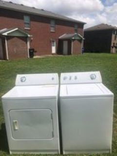 washer and Dryer match set