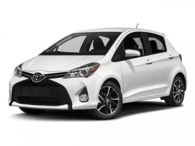 2016 Toyota Yaris 5-Door L (White)