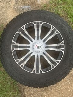 20 Rims with Toyo All-Terrain tires
