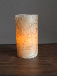 Flameless candle.