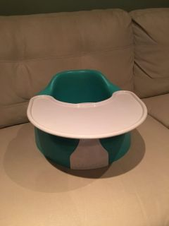 Blue bumbo with tray! Excellent condition , like new