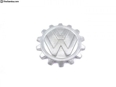 Split KdF Cogwheel Hood Emblem