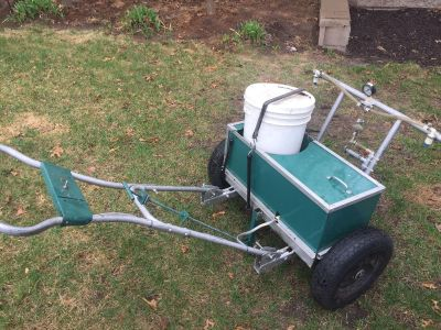Home made weed spreader.
