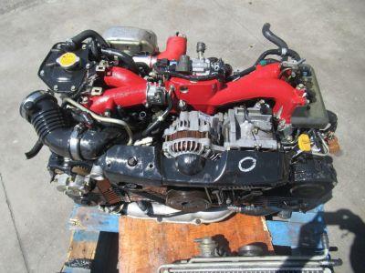 JDM SUBARU IMPREZA WRX STI GDB V7 EJ207 DOHC AVCS TURBO ENGI