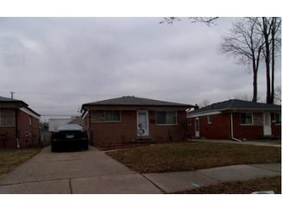 3 Bed 1 Bath Foreclosure Property in Warren, MI 48089 - Wagner Ave