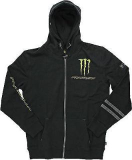 Purchase Pro Circuit Monster Blaze Premium Hooded Zip Up Fleece Black motorcycle in Holland, Michigan, United States, for US $71.60